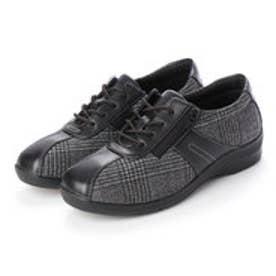 レディース 短靴 EVE195TXモノクロC 12420848
