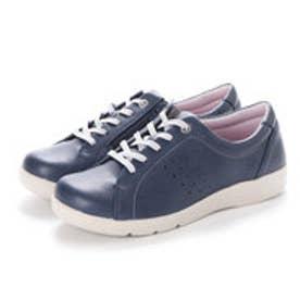 レディース 短靴 EVE301 ネイビー 12421785