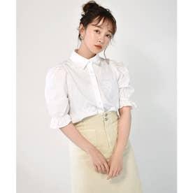 総刺繍えりBL (ホワイト)
