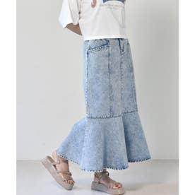 切替マーメイドスカート (ケミカル)