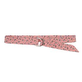 小花柄ベルトチョーカー (Pink)