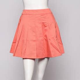 イーハイフンワールドギャラリー ビタミンカラープリーツスカート (オレンジ)