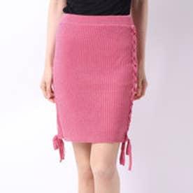 ラメスカート (ピンク)