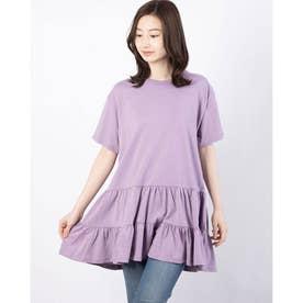 ティアードTシャツ (Light Purple)