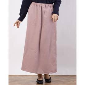 ツイルロングスカート (Pink)