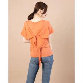 ダブルバックリボンプルオーバー (Orange)