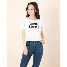 ヴィンテージロゴチビTシャツ (Off White)