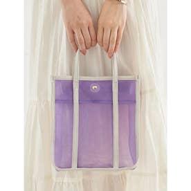 スクエアメッシュバッグ (Lavender)