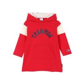 ■Champion フードワンピース (Red)