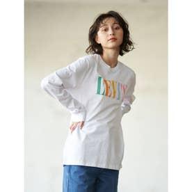 ■Levi's for earthマルチカラー長袖Tシャツ (White)