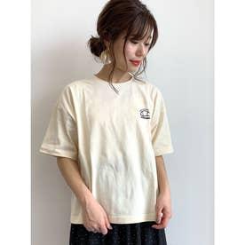 ellesse×earthロゴTシャツ (Ivory)
