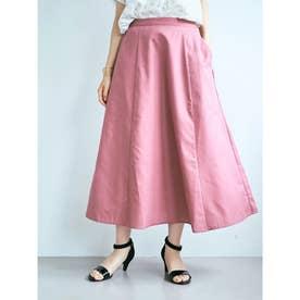 Aラインフレアスカート (Pink)