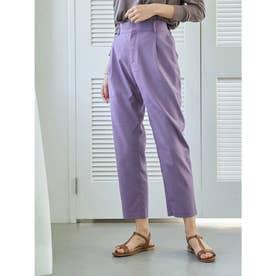美人シルエットパンツ(テーパード) (Lavender)