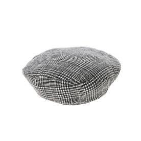 リバーシブルベレー帽 (Black)
