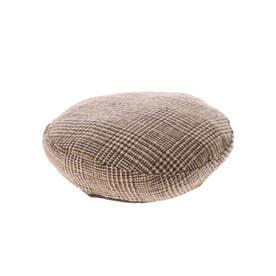 リバーシブルベレー帽 (Brown)