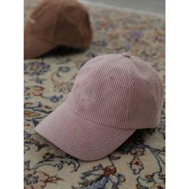 コーデュロイキャップ (Pink)