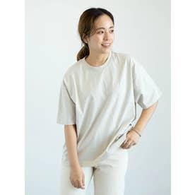 【WEB限定】CONVERSE 刺繍Tシャツ (ライトベージュ)