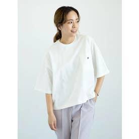 【WEB限定】CONVERSEワイドシルエットTシャツ (オフホワイト)