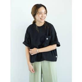 【WEB限定】CONVERSEワイドシルエットTシャツ (ブラック)