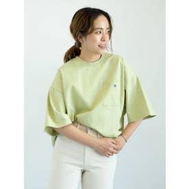 【WEB限定】CONVERSEワイドシルエットTシャツ (ライトグリーン)