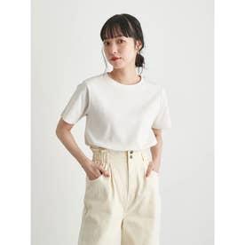 スムースボックスTシャツ (Off White)