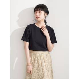 スムースボックスTシャツ (Black)