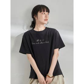 Stay true to yourself BOX Tシャツ (Black)