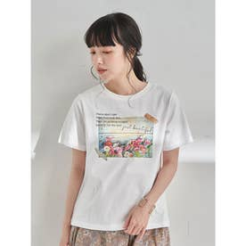 Plants don't careTシャツ (Off White)
