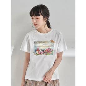 Plants don't careTシャツ (Off White)