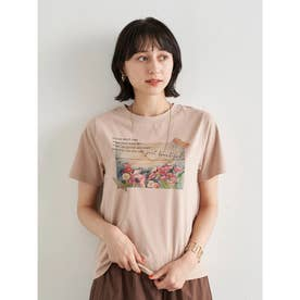 Plants don't careTシャツ (Beige)