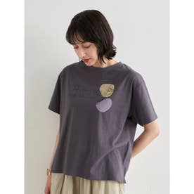 Take time to smell BOX Tシャツ (Charcoal Gray)