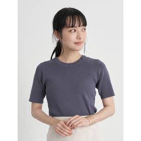 スタイリッシュニットTシャツ (Royal Blue)