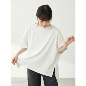 スムースポンチョ風Tシャツ (Off White)
