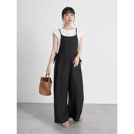 サロペット+Tシャツ SET (Black)