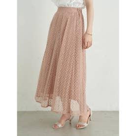 選べるレーススカート(サークル) (Pink Beige)