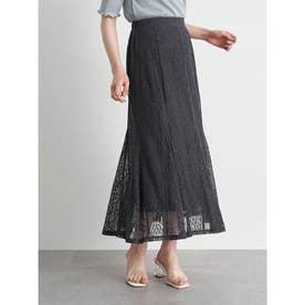 選べるレーススカート(フラワー) (Charcoal Gray)