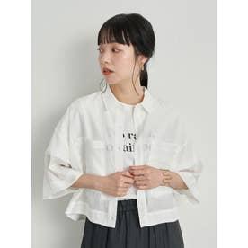 シアーショートシャツ (Ivory)