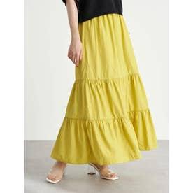 ティアードスカート (Yellow)