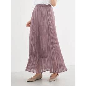 プリーツスカート (Lavender)