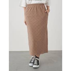 カットレースタイトスカート (Brown)