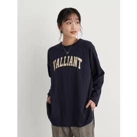 VALLIANT Tシャツ (ネイビー)
