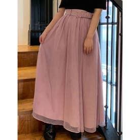 ボリュームチュールスカート(ピンク)
