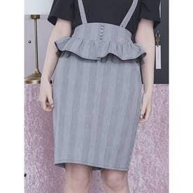 ペプラムスカート(ミックス)