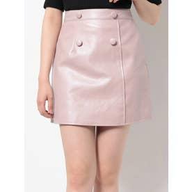 ラップライクミニスカート(ピンク)