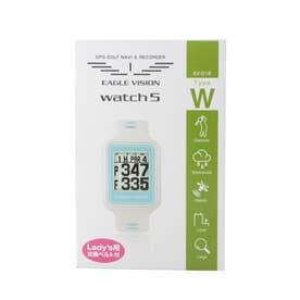 ゴルフ 距離測定器 watch5 EV-019 WH EV-019 WH (ホワイト)