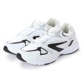 万能スニーカー スポーツ ウォーキング 軽作業 運動靴 em_18249 (WHITE)