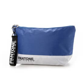 PANTONE×earthビッグポーチ (Blue)