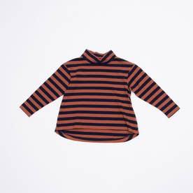 KIDS BORTSPRUNGT ボーダーTシャツ (Brown)