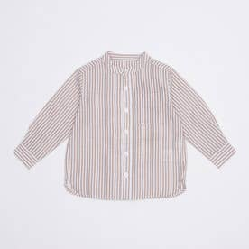 ストライプシャツ (Beige)