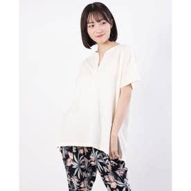 スキッパーチュニックTシャツ (Off White)